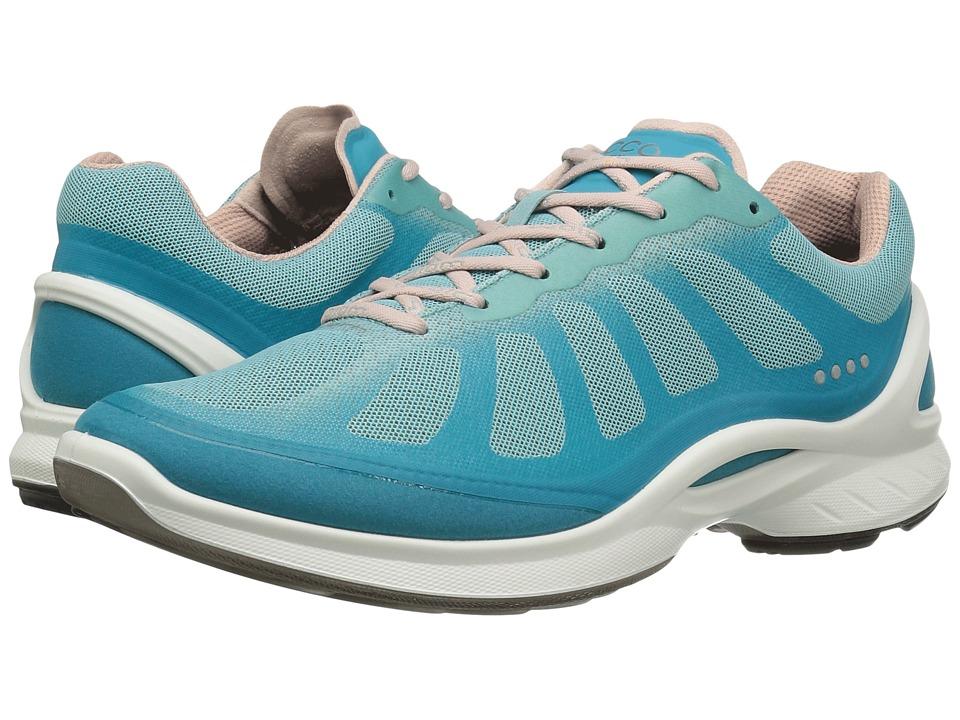 ECCO Sport - Biom Fjuel Racer (Capri Breeze/Aquatic/Rose Dust) Women's Shoes