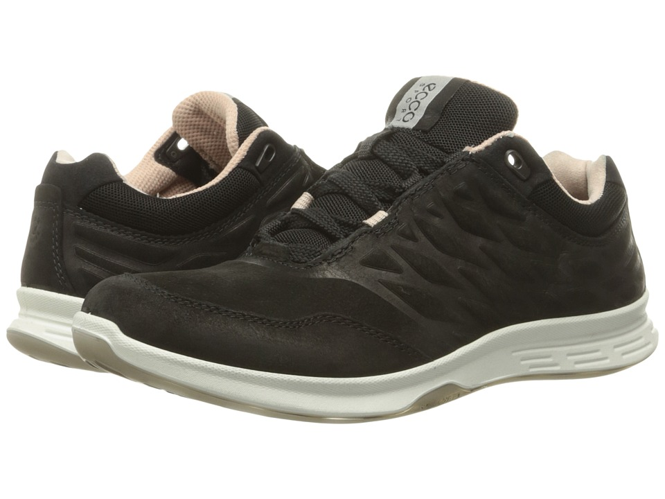 ECCO Sport - Exceed Low (Black) Women's Walking Shoes