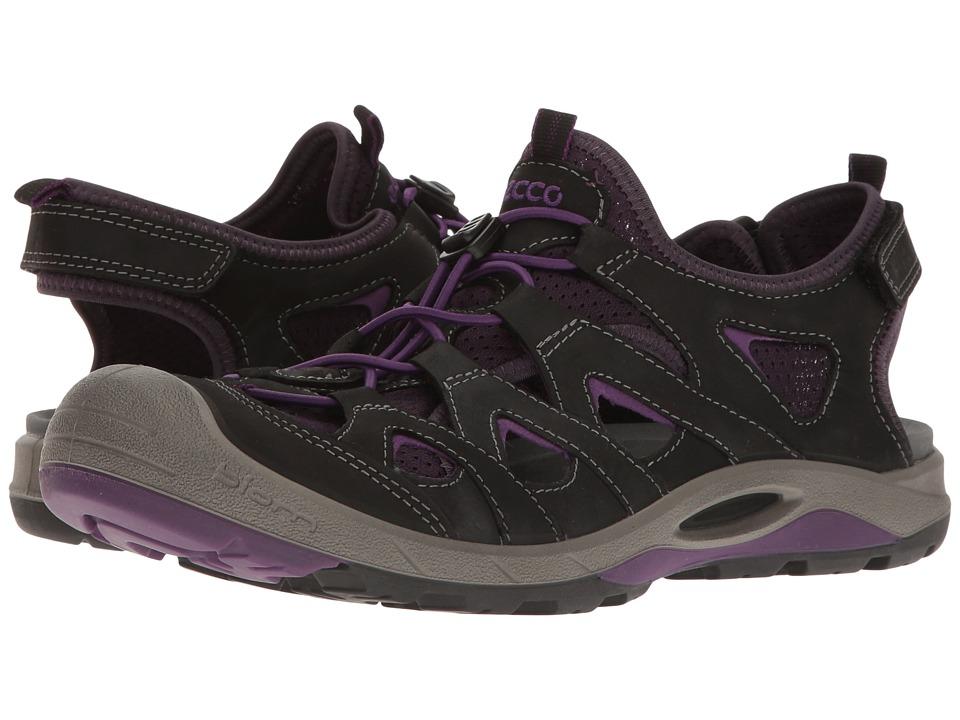 ECCO Sport - Biom Delta Off Road (Black/Imperial Purple) Women's Shoes