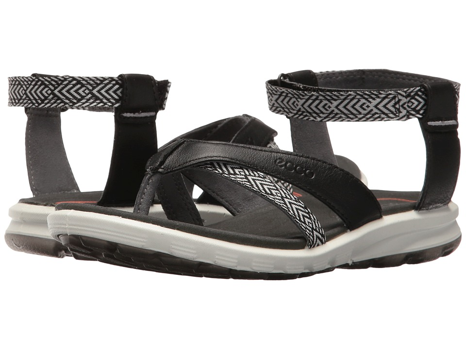 ECCO Sport - Cruise Sport (Black/Black) Women's Sandals