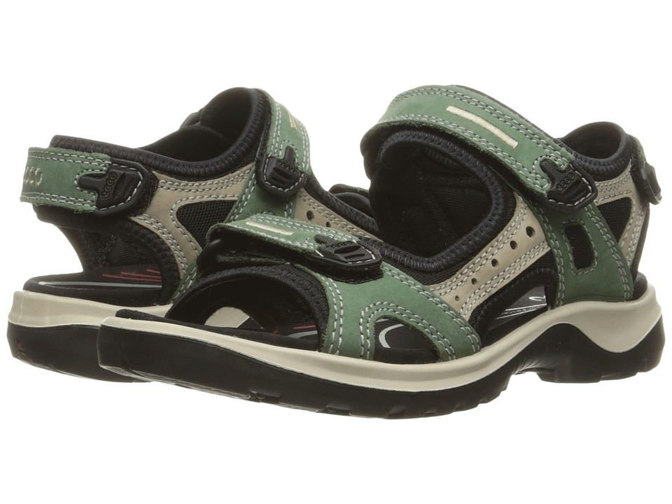 ECCO Sport - Yucatan Sandal (Frosty Green/Moon Rock/Frosty Green) Women's Sandals