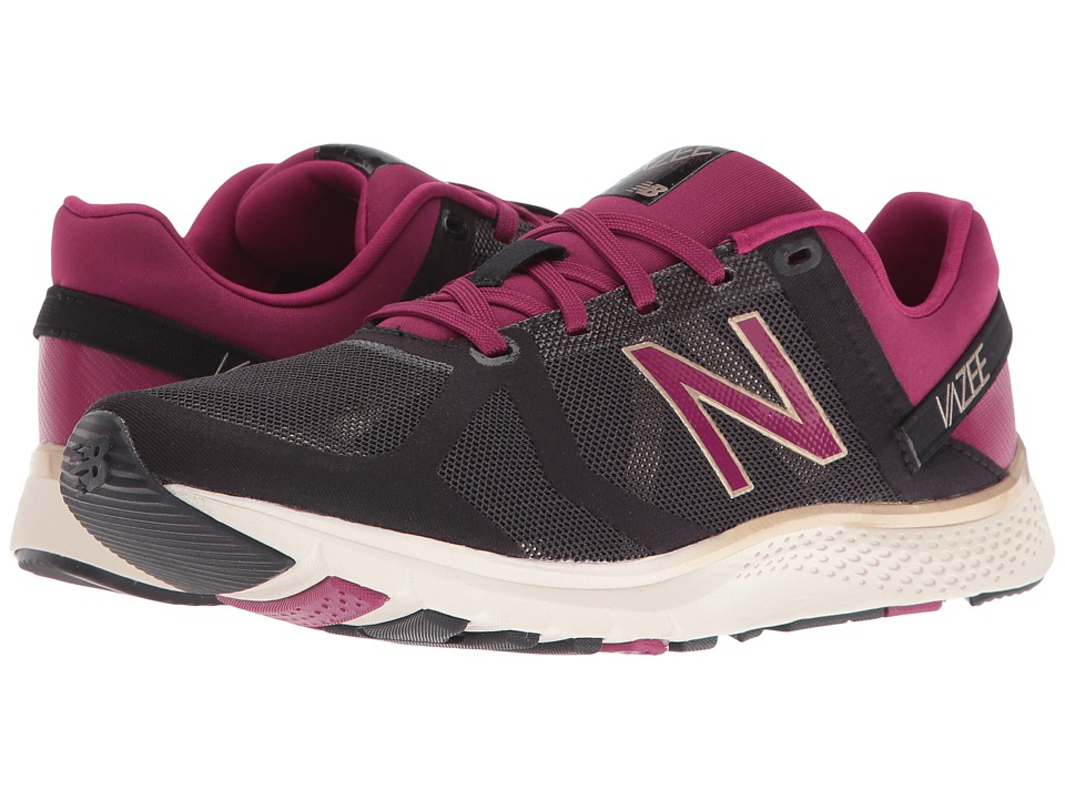 New Balance - WX77v1 (Black/Deep Jewel) Women's Shoes