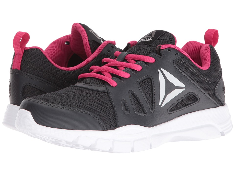 Reebok - Trainfusion 2.0 (Coal/Pink Craze/White/Pure Silver) Women's Shoes