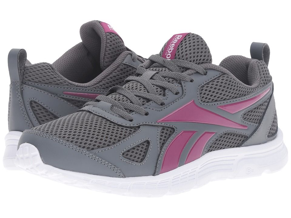 Reebok - Supreme Run MT (Alloy/Rebel Berry/White) Women's Shoes