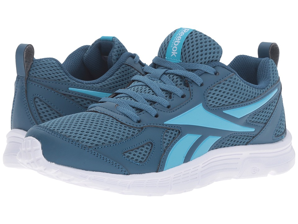 Reebok - Supreme Run MT (Slate/Crisp Blue/White) Women's Shoes
