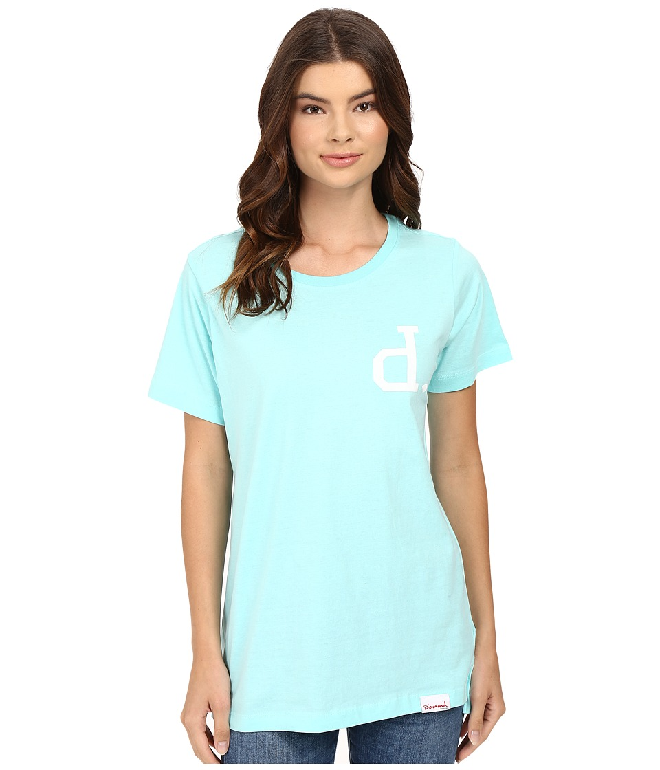 Diamond Supply Co. - Un-Polo Boyfriend Tee (Diamond Blue) Women's T Shirt
