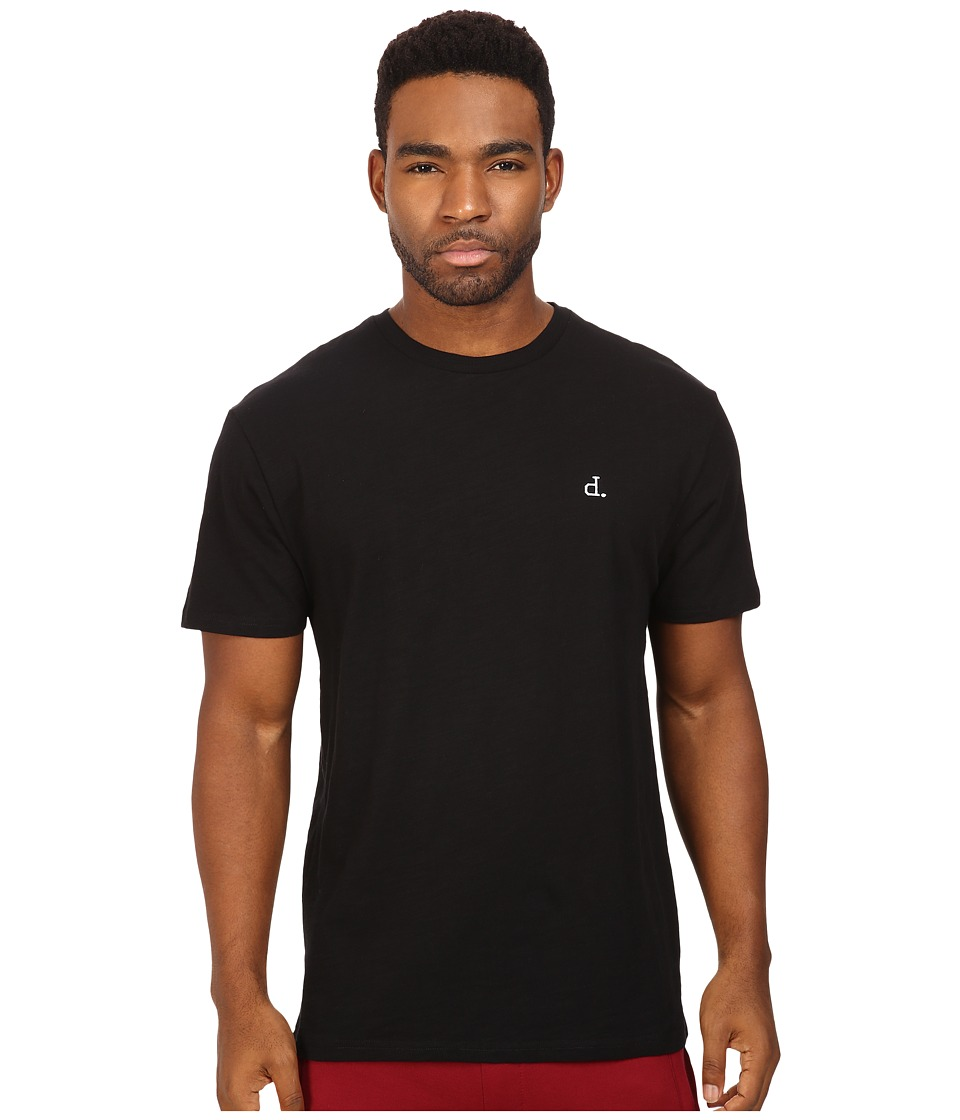 Diamond Supply Co. - UN Polo Chest Slub Tee (Black) Men's T Shirt