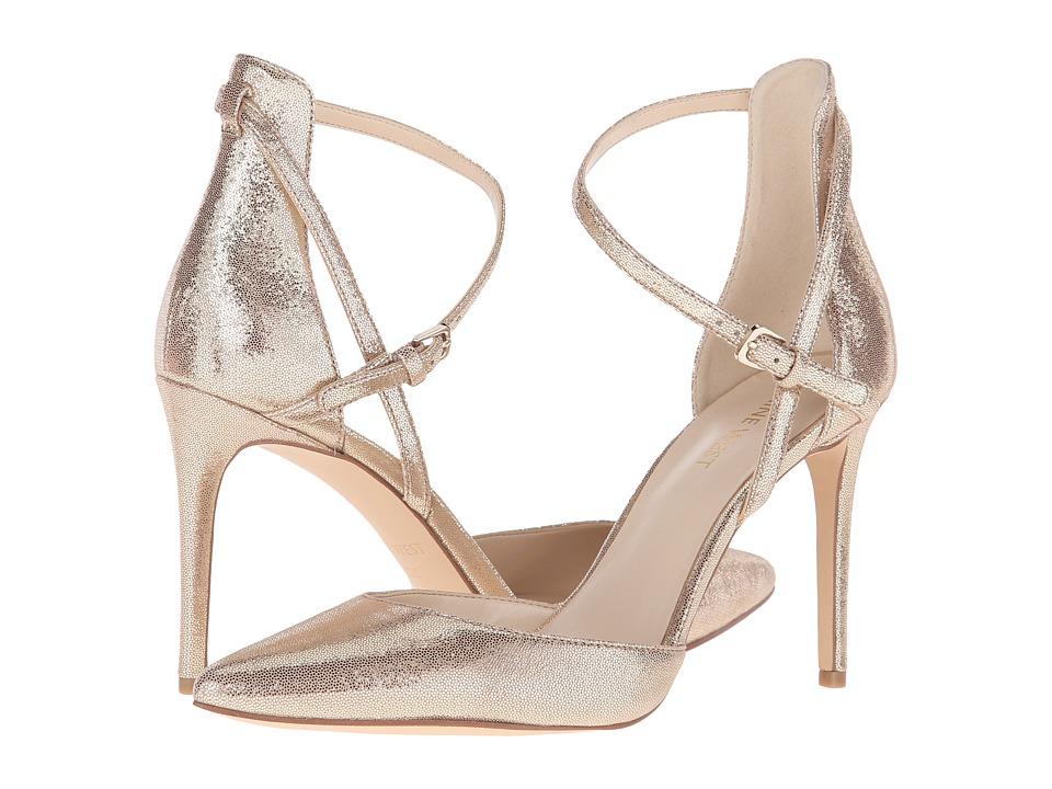 Nine West - Taragon (Light Gold Metallic Multi) High Heels