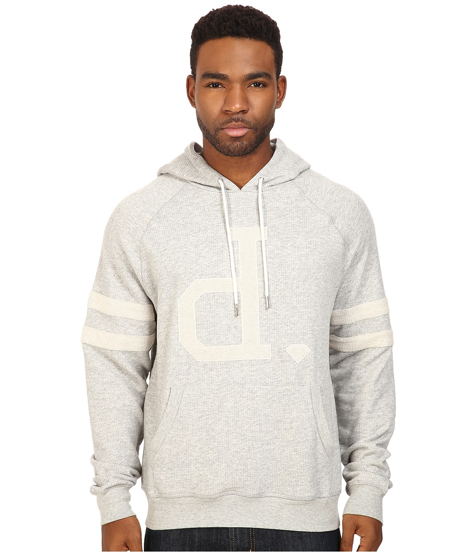 Diamond Supply Co. - UN Polo Pullover Hoodie (Heather Grey) Men's Sweatshirt
