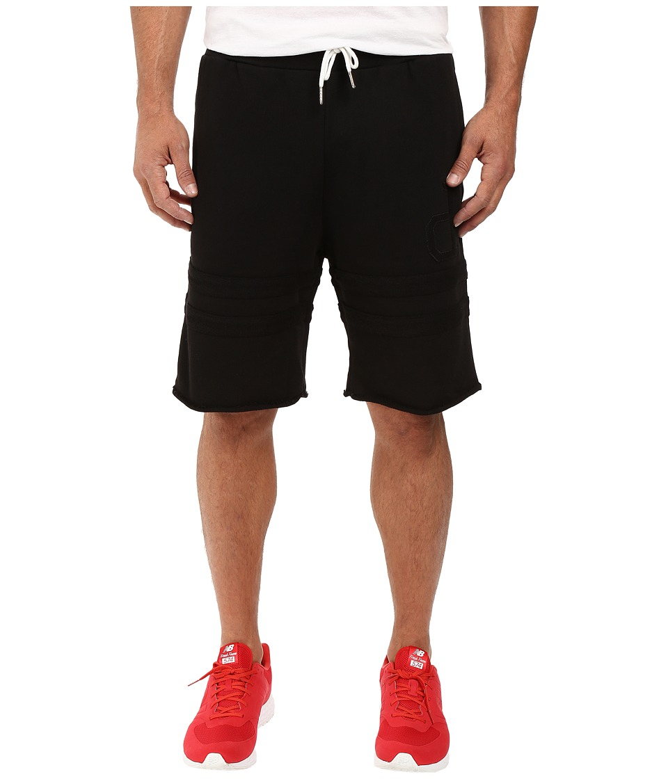 Diamond Supply Co. - UN Polo Sweatshorts (Black) Men's Shorts