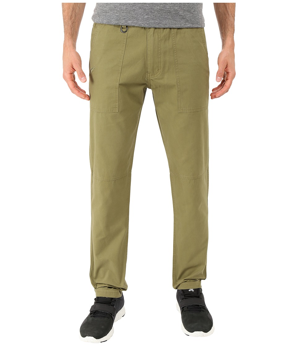 Publish - Acker - Classic Fit Twill Pants (Olive) Men's Casual Pants