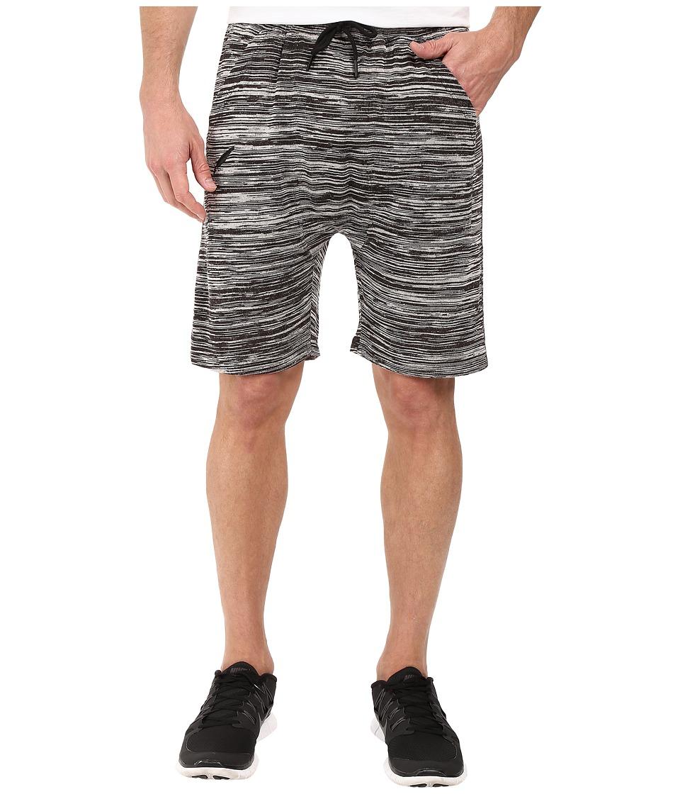 Publish - Bazel - Heathered Knit Shorts (Black) Men's Shorts