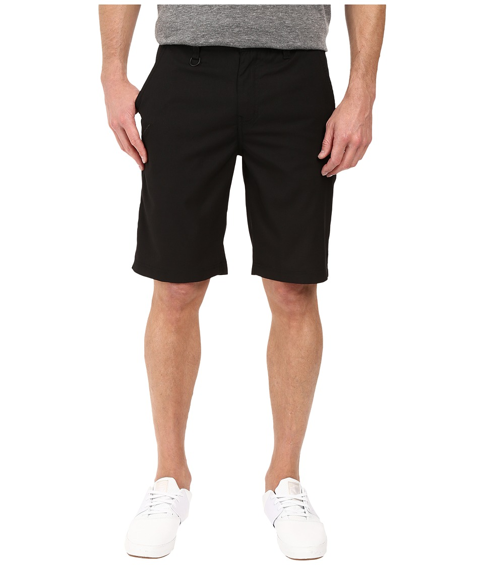 Publish - Goren - Micro Twill Shorts (Black) Men's Shorts