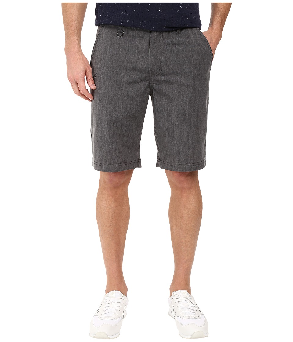 Publish - Goren - Micro Twill Shorts (Charcoal) Men's Shorts