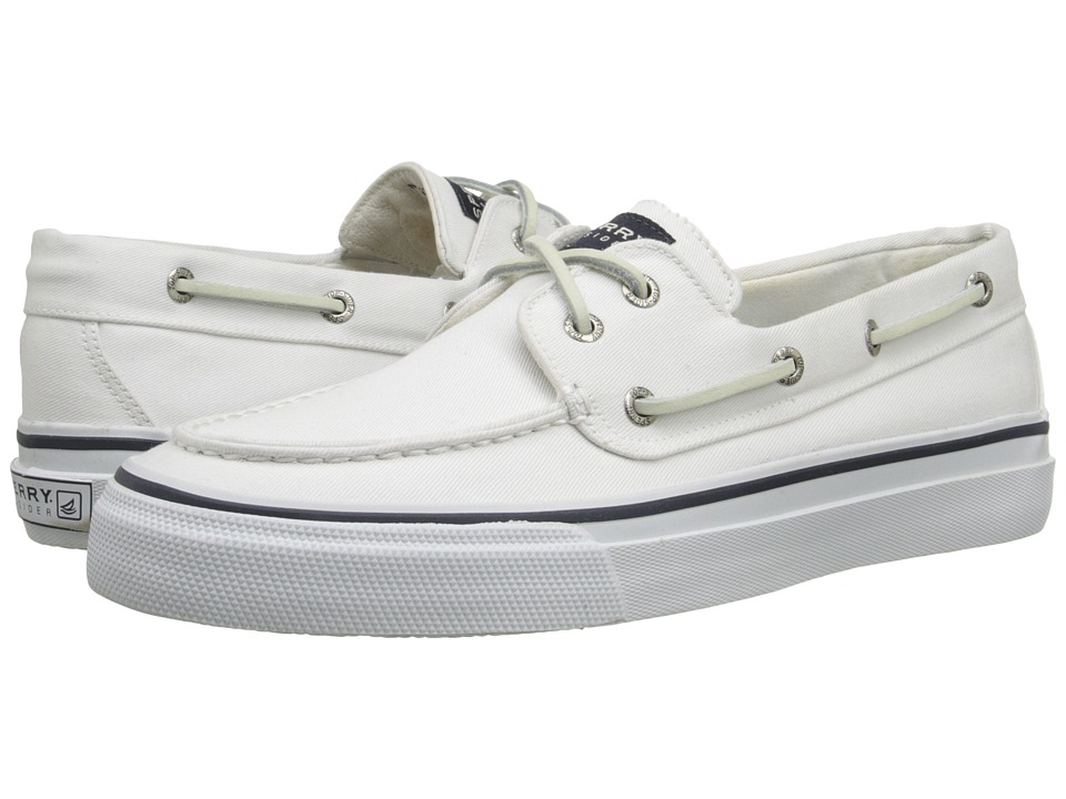 Sperry - Bahama Lace (White) Men's Lace up casual Shoes