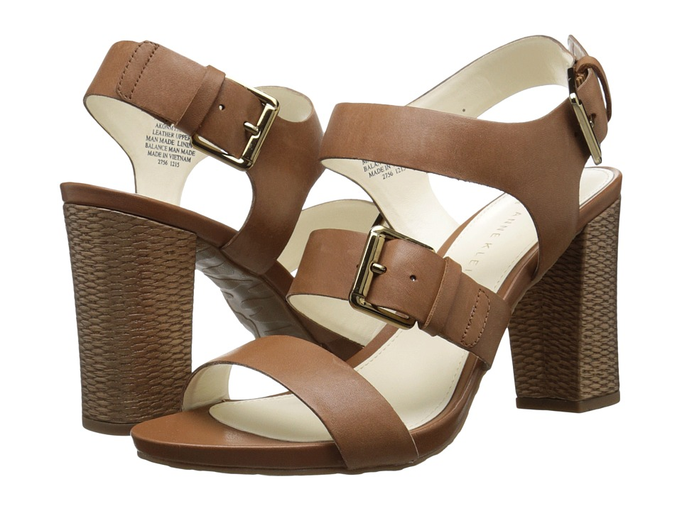 Anne Klein - Onmymind (Cognac Leather) Women's Shoes