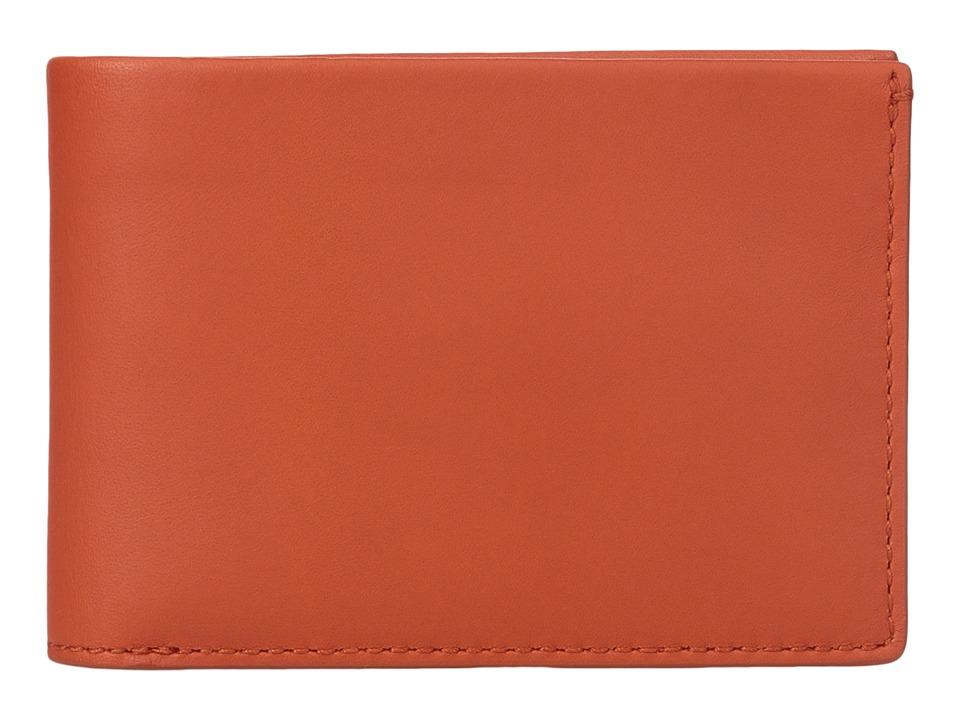 Skagen - Ambold Slim Bifold (Bright Orange) Wallet Handbags
