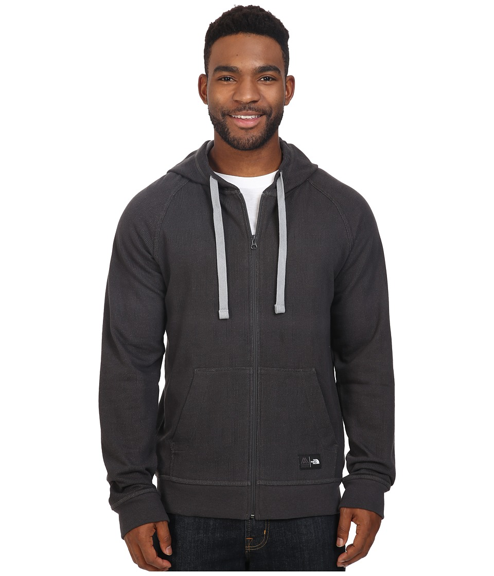 The North Face - Wicker Full Zip Hoodie (TNF Black Print) Men's Sweatshirt