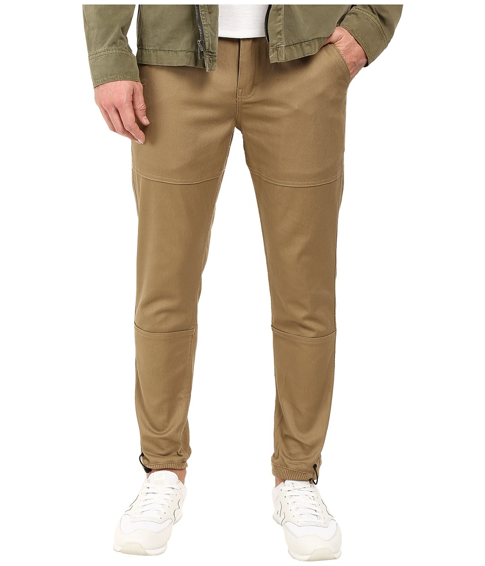 Publish - Amado - Premium Stretch Twill Jogger (Khaki) Men's Casual Pants