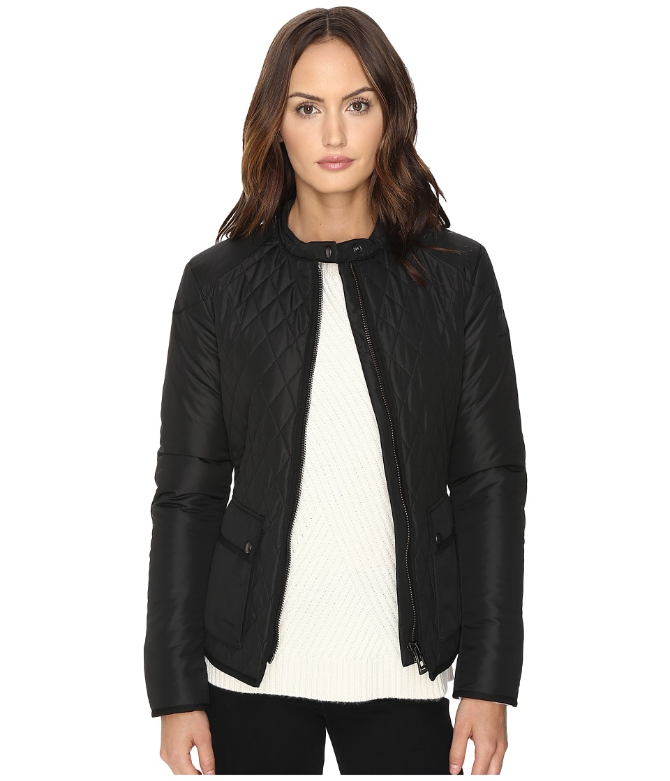 BELSTAFF - Randall Lightweight Techinical Quilt Jacket (Black) Women's Coat
