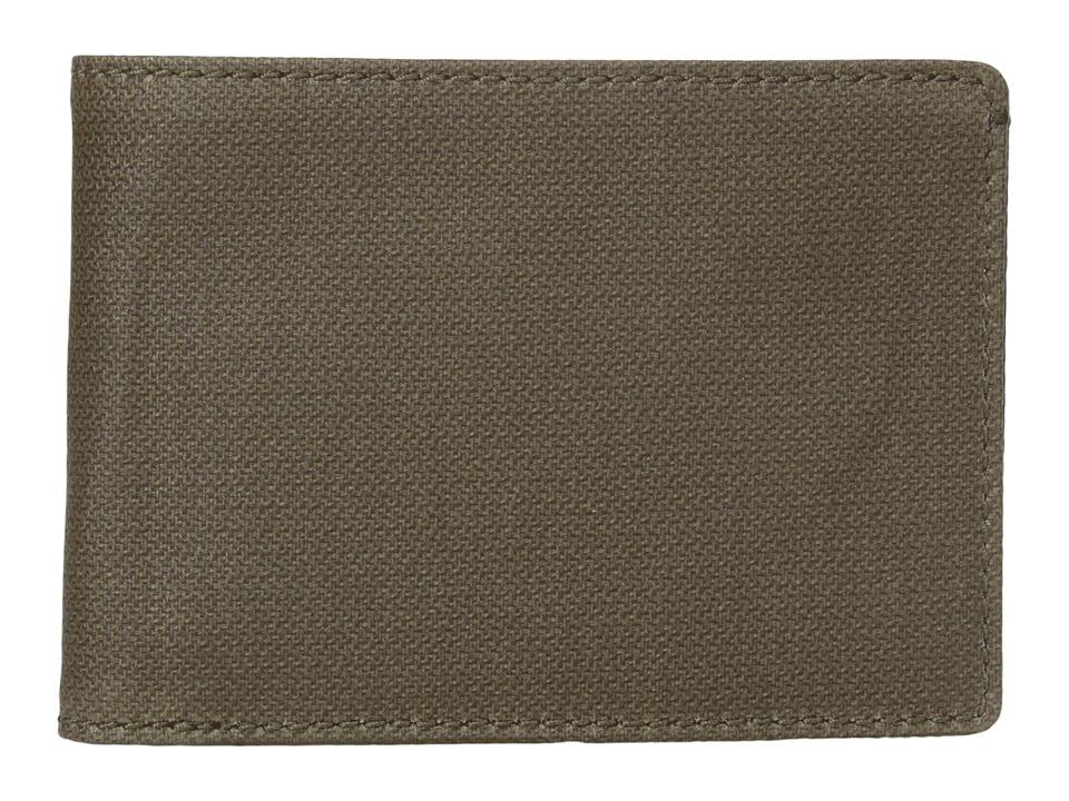 Skagen - Ambold Slim Bifold (Olive) Wallet Handbags