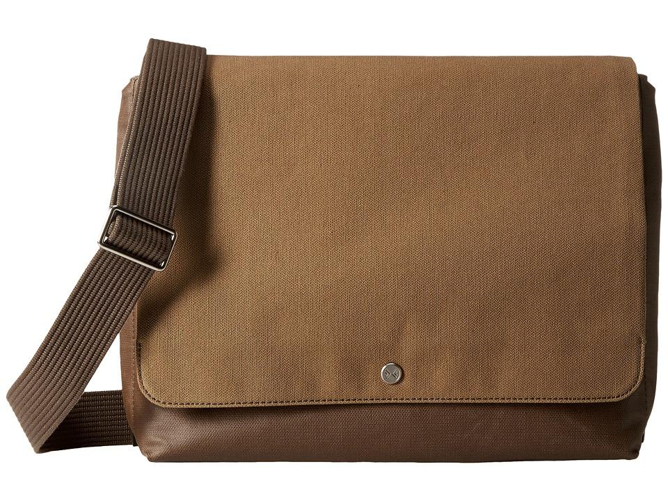 Skagen - Eric Messenger (Olive) Messenger Bags