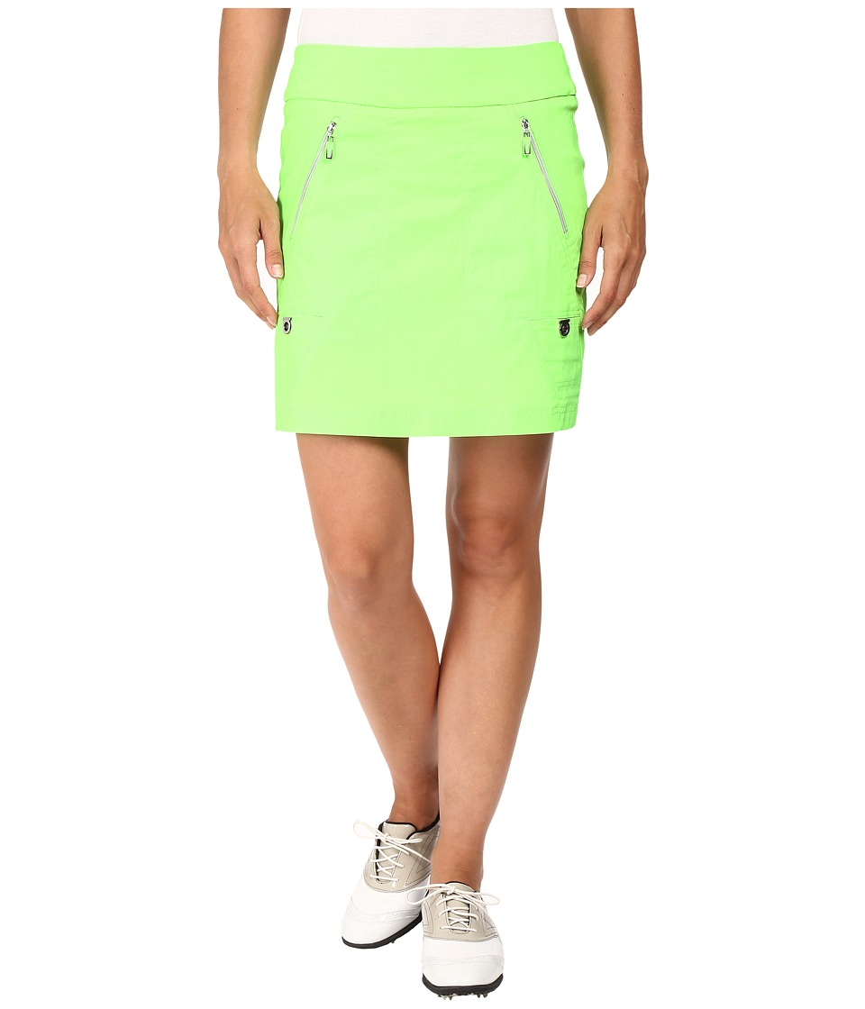 Jamie Sadock - Skinnylicious 18 in. Skort (Kryptonite Green) Women's Skort