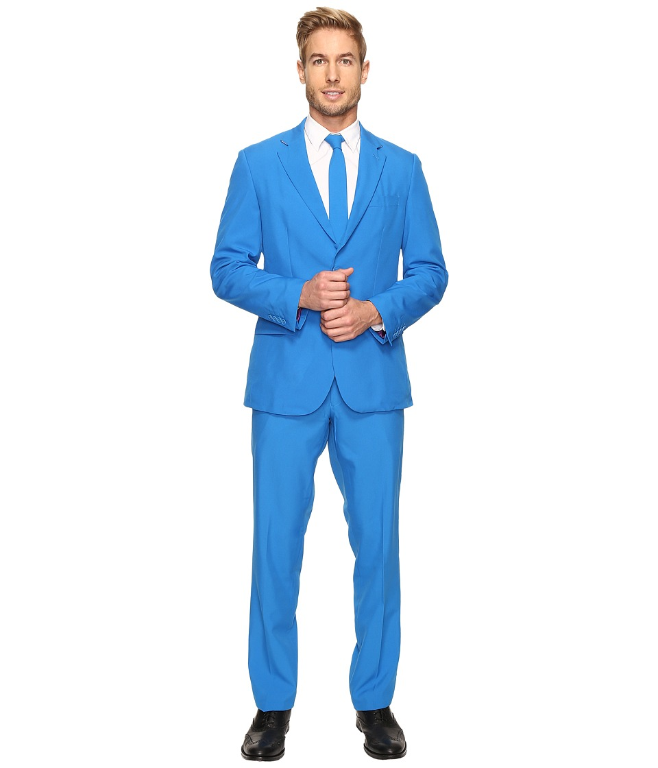 OppoSuits - Blue Steel Suit (Blue) Men's Suits Sets