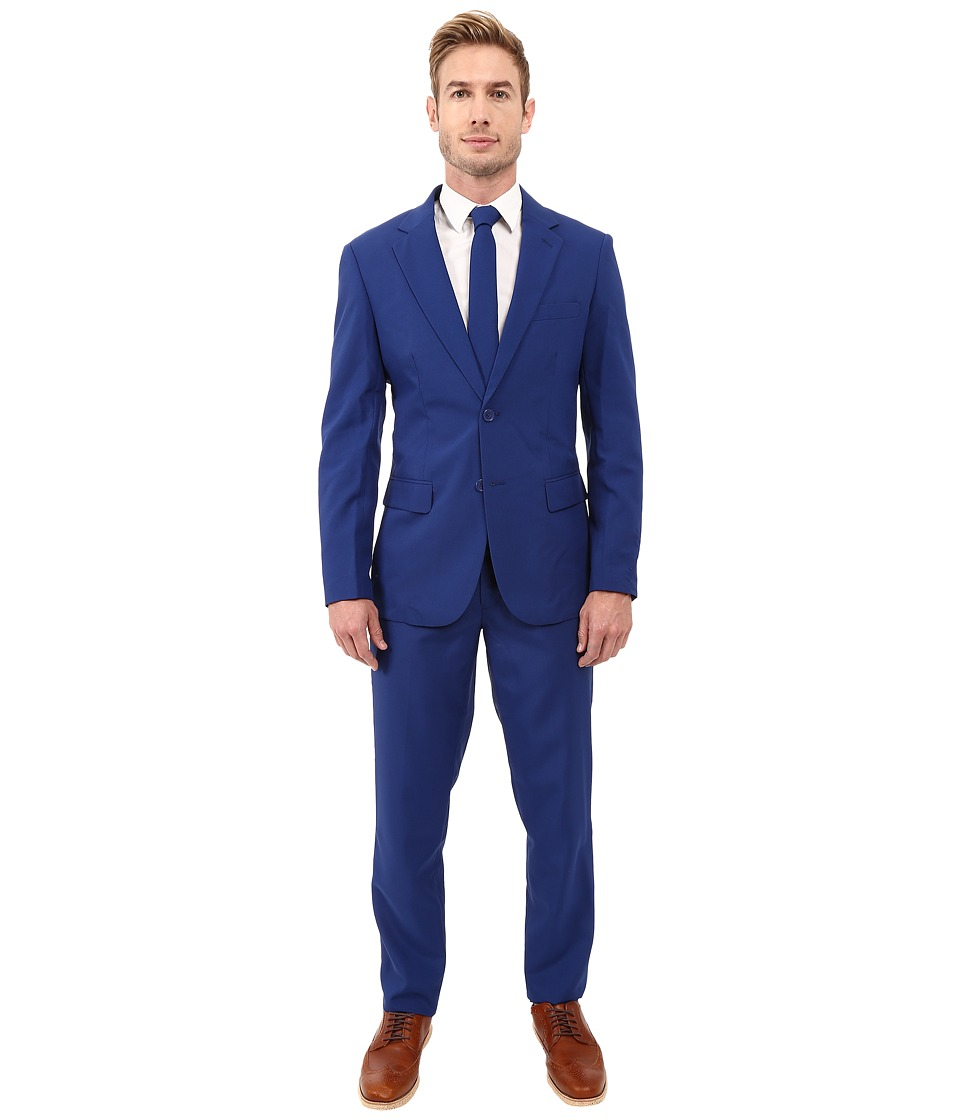OppoSuits - Navy Royale Suit (Navy) Men's Suits Sets