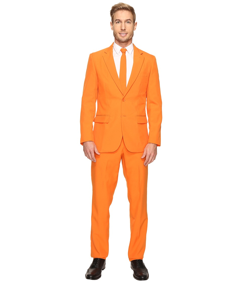 OppoSuits - The Orange Suit (Orange) Men's Suits Sets