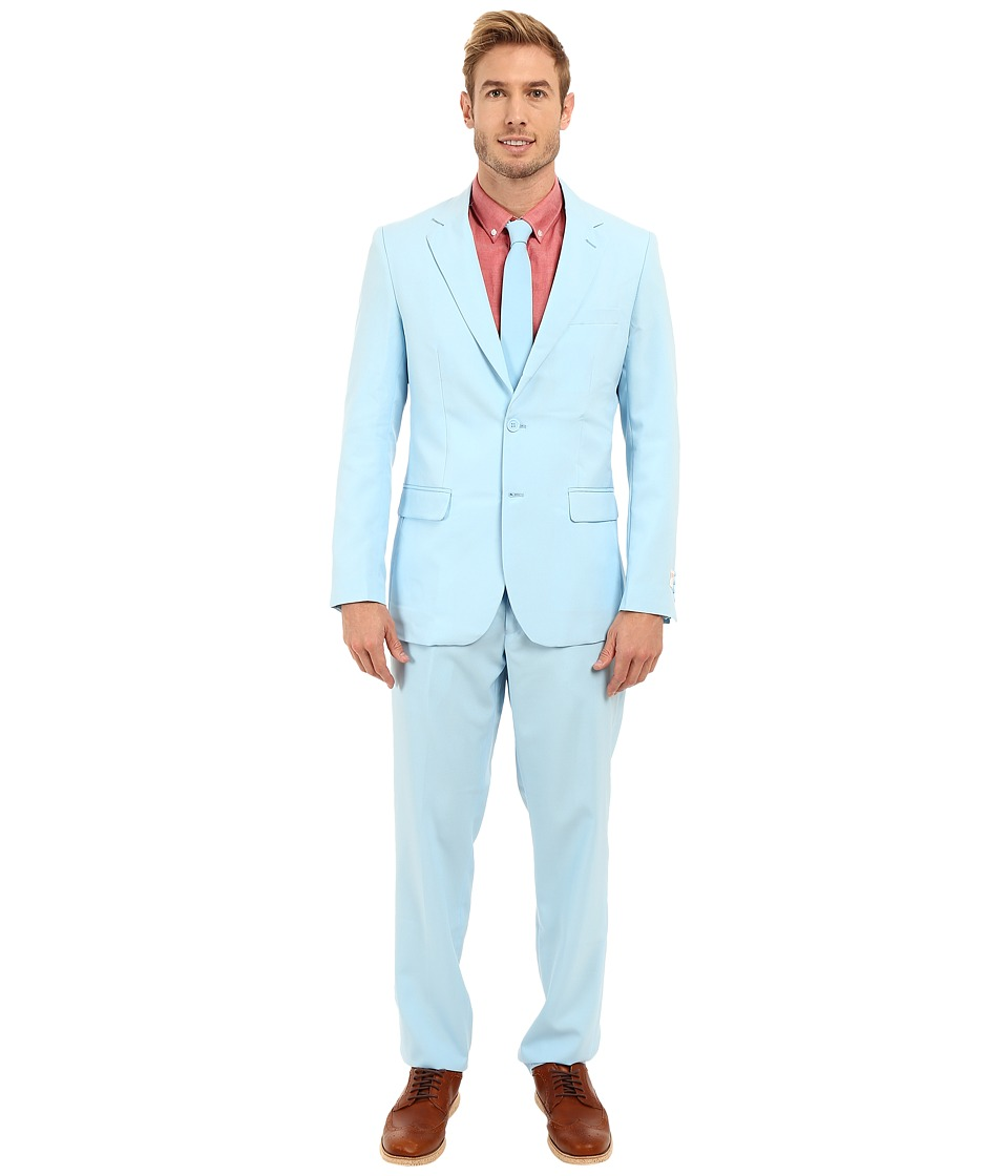OppoSuits - Cool Blue Suit (Light/Pastel Blue) Men's Suits Sets
