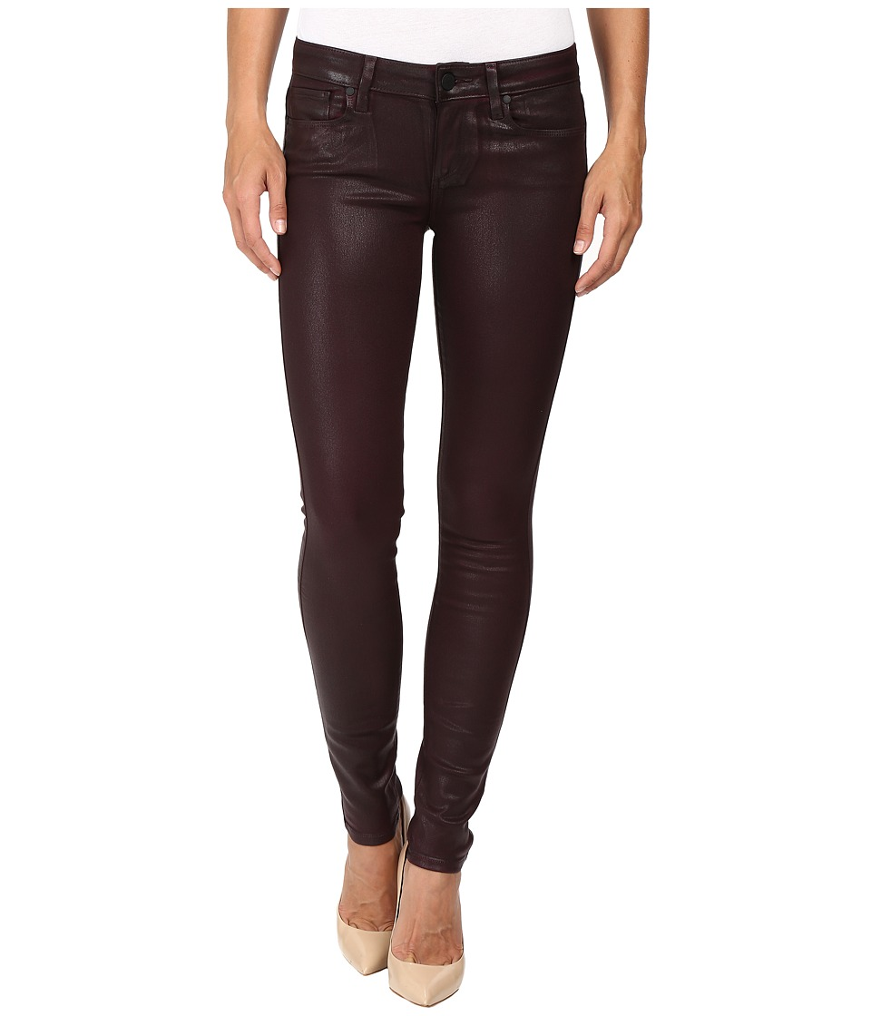 Paige - Verdugo Ultra Skinny in Wine Luxe Coating (Wine Luxe Coating) Women's Jeans