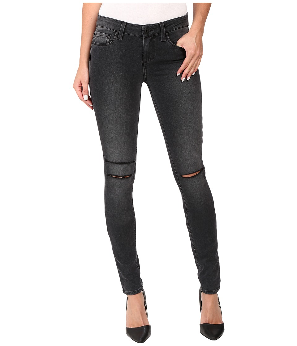 Paige - Verdugo Ultra Skinny in Smoke Grey Destructed (Smoke Grey Destructed) Women's Jeans