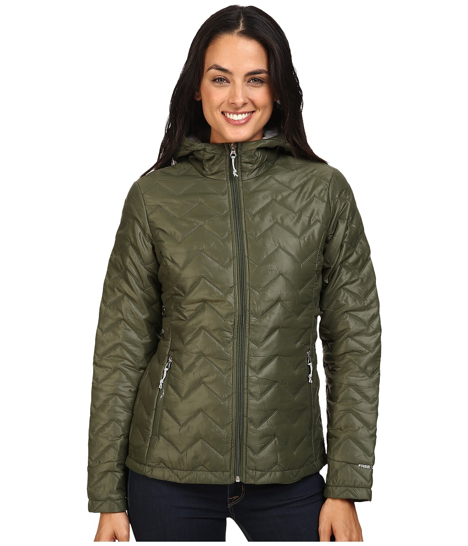 Free Country - Cire Polyfil (Olive Fern/Dove) Women's Coat