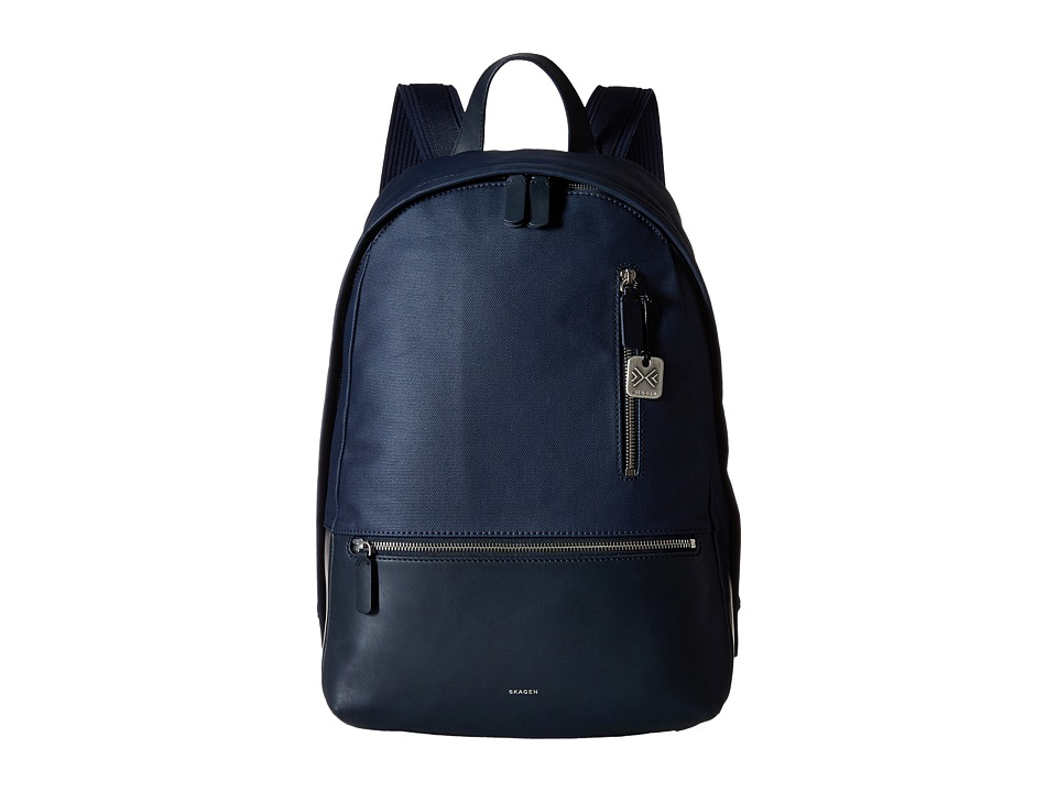 Skagen - Kroyer Backpack (Ink) Backpack Bags