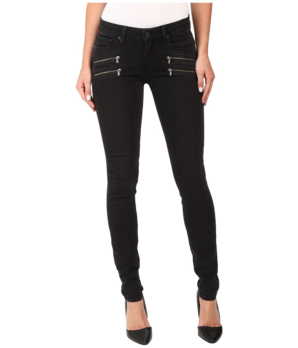 Paige Edgemont Ultra Skinny in Black Fog (Black Fog) Women