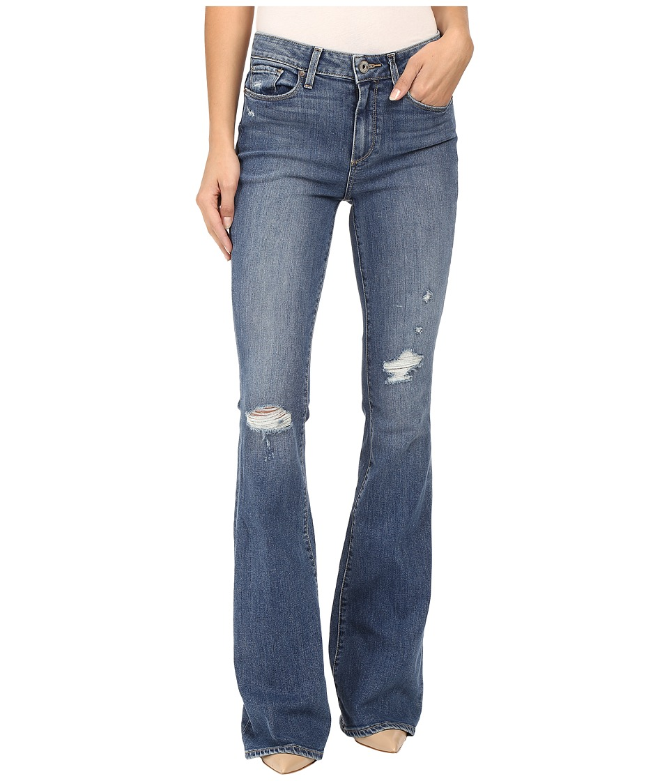 Paige - High Rise Bell Canyon in Gia Destructed (Gia Destructed) Women's Jeans
