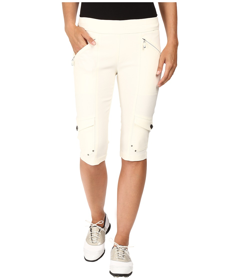 Jamie Sadock - Skinnylicious 24 in. Knee Capri (Zen Cream) Women's Capri