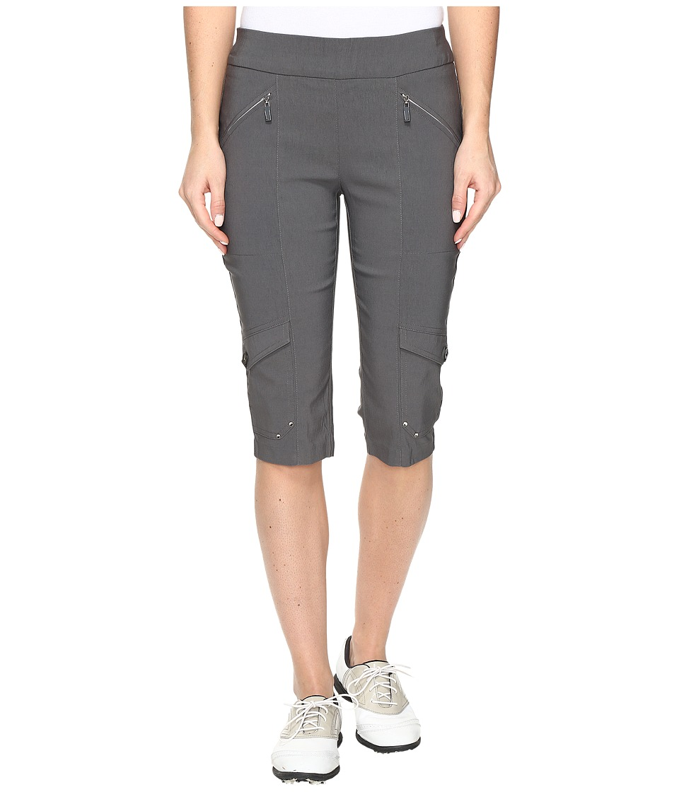 Jamie Sadock - Skinnylicious 24 in. Knee Capri (Licorice) Women's Capri