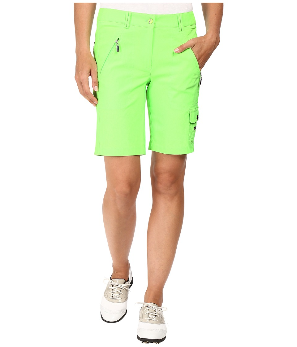 Jamie Sadock - Fly Front 19 in. Shorts (Kryptonite Green) Women's Shorts