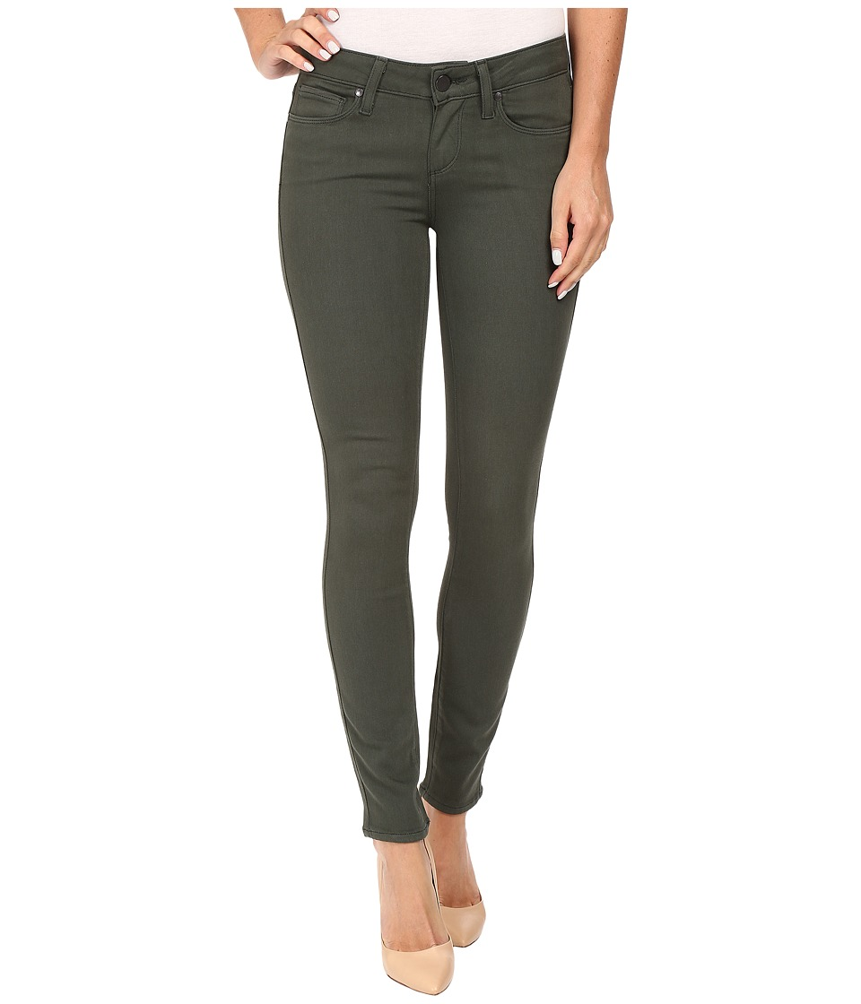 Paige - Verdugo Ankle in Army (Army) Women's Jeans