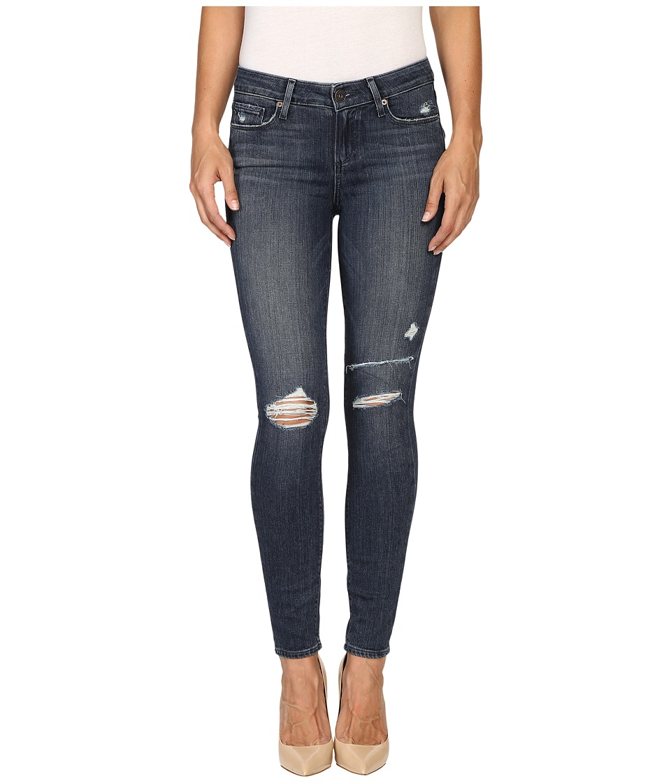Paige - Verdugo Ankle in Valera Destructed (Valera Destructed) Women's Jeans