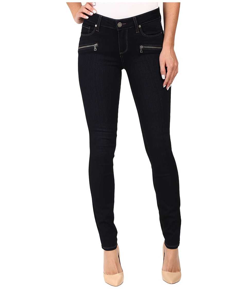 Paige - Indio Zip Ultra Skinny in Ellora No Whiskers (Ellora No Whiskers) Women's Jeans