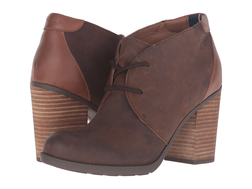 Tommy Hilfiger - Duff (Brown) Women's Shoes