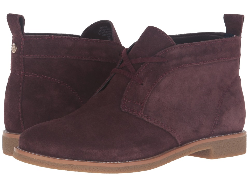 Tommy Hilfiger - Blaze (Rich Merlot) Women's Shoes