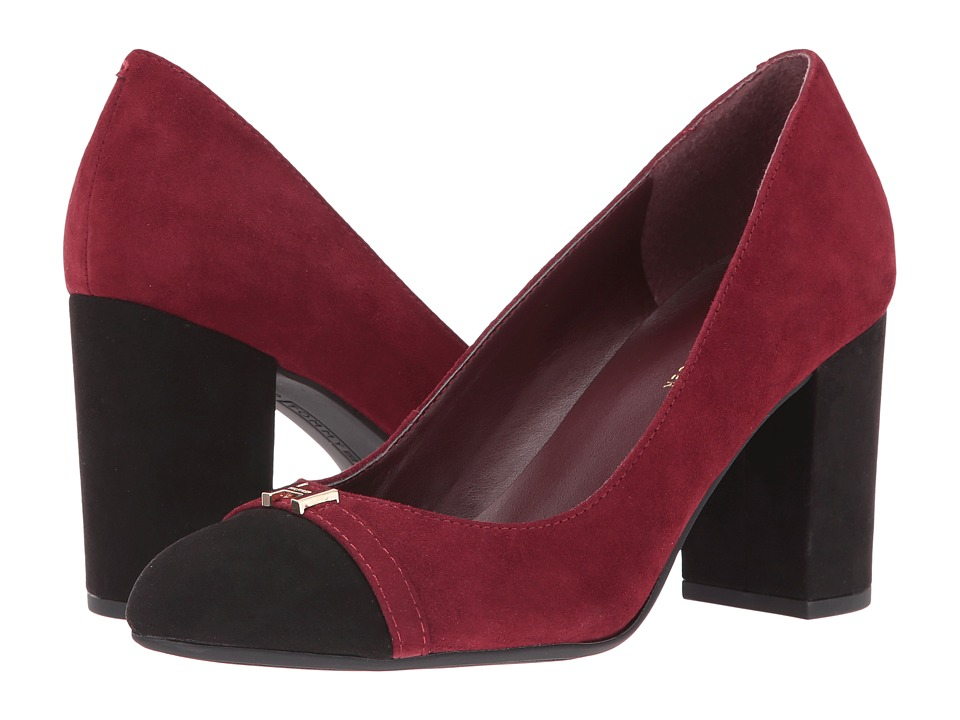 Tommy Hilfiger - Elena (Red/Black) Women's Shoes