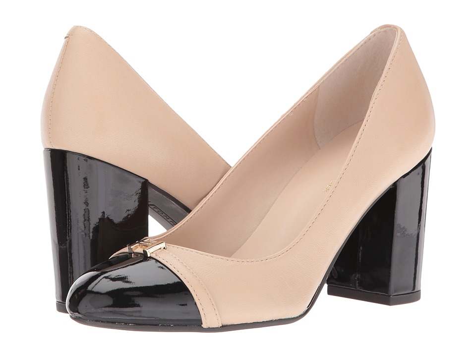 Tommy Hilfiger - Elena (Latte/Black) Women's Shoes