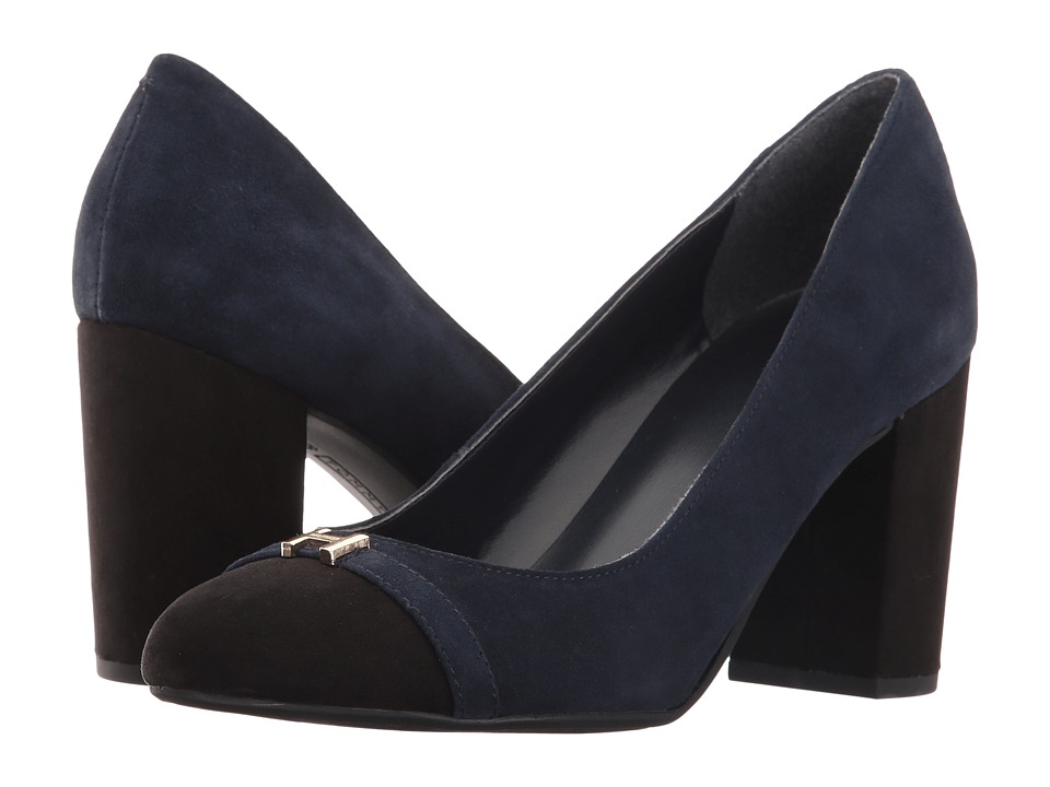 Tommy Hilfiger - Elena (Marine/Black) Women's Shoes