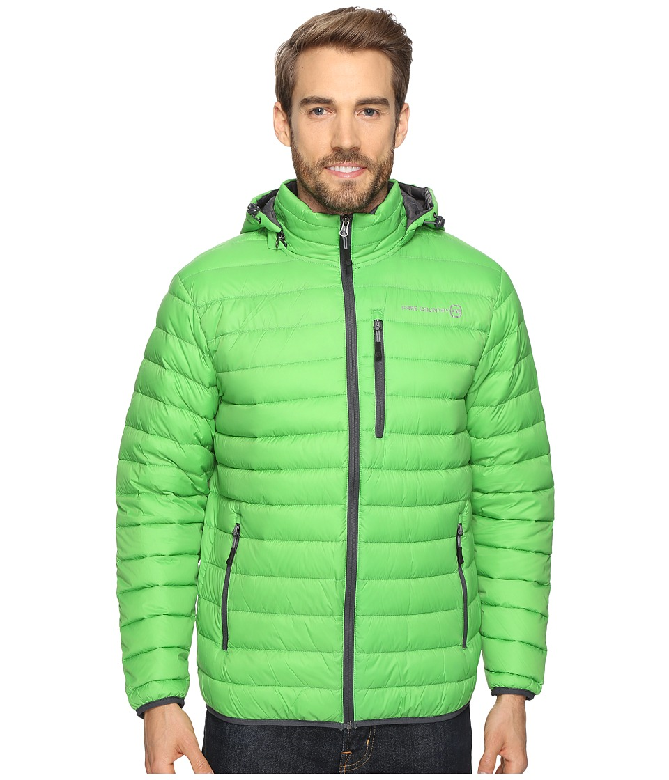 Free Country - Down Puffer Packable (Green) Men's Coat