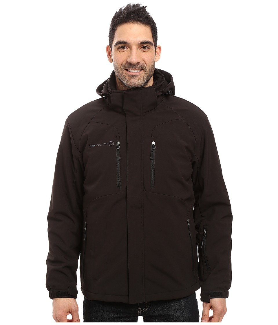 Free Country - Softshell Systems (Black) Men's Coat